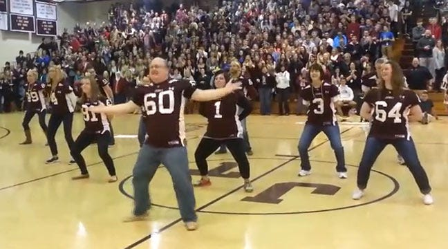 Video Of Jenks Vice Principal Dancing Threatens To Go Viral