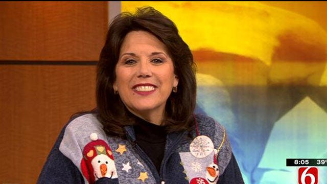 6 In The Morning: LeAnne Taylor's Christmas Sweaters