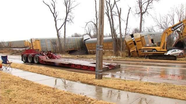 BNSF Railway Police Offer New Information In Tulsa Train Derailment