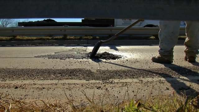 Freezing Weather Plus Thaw Recipe For Tulsa Potholes