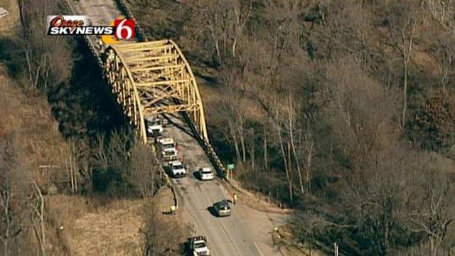 ODOT Repairs Bridge Deck On Highway 11 Near Sperry