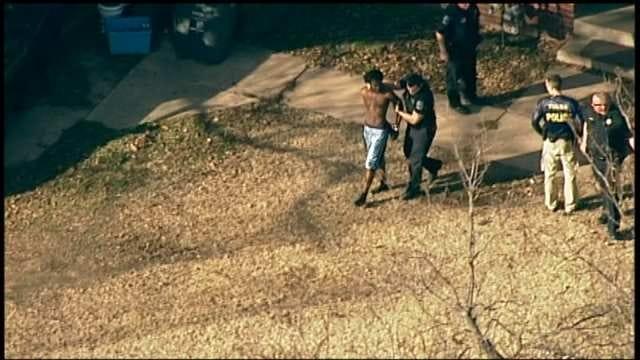 Osage SkyNews 6 Flies Over Tulsa Police Arrests