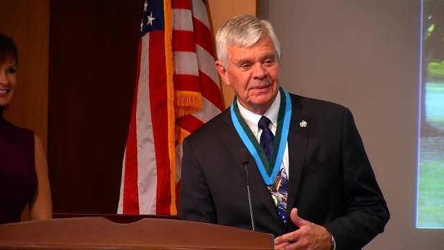 Stanley Glanz, Mickey Perry Inducted Into Law Enforcement Hall Of Fame