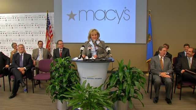 Macy's To Build Order Fulfillment Center In Owasso
