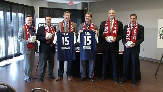 Fans Thrilled Pro Soccer Is Headed To Tulsa