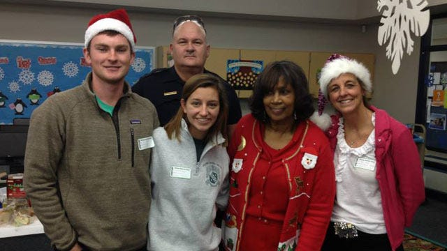 Tulsa Police, Crime Prevention Network Deliver Gifts To Third Graders