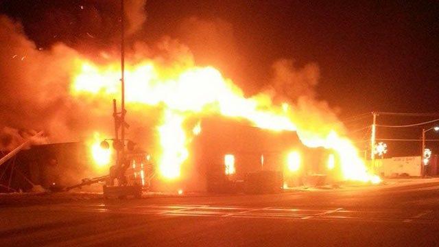 Fire Destroys Downtown Nowata Business