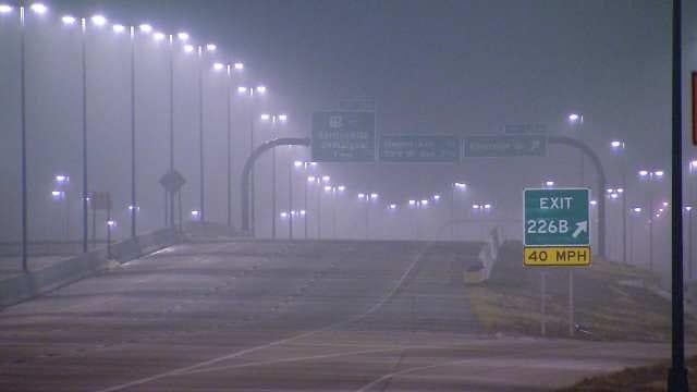Dense Fog Blankets Eastern Oklahoma, Flights Into TIA Delayed