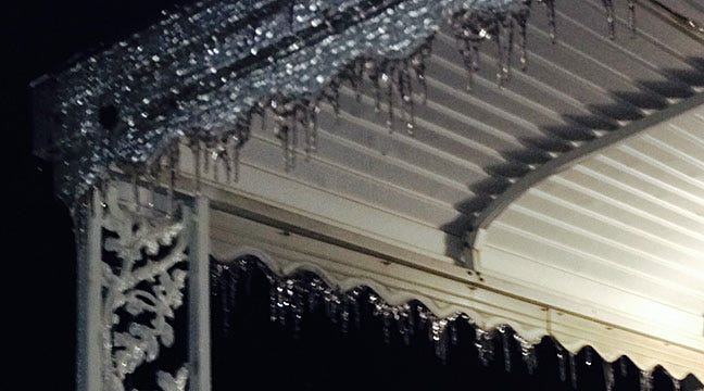 Freezing Rain Brings Power Outages In Northeastern Oklahoma
