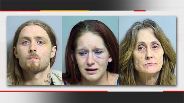 Skiatook Family Brawl Lands Three In Jail