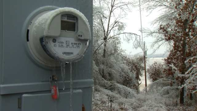 Crews Working Nonstop To Restore Power In Creek County