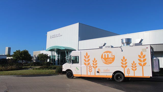 Mobile Food Pantry Takes Free Meals To Tulsa Kids