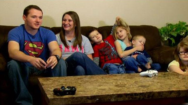 Church Helps Injured OK Soldier's Family Pay Electricity Bill