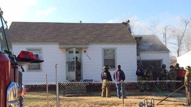 Falling Power lines Cause Fire On Tulsa Home