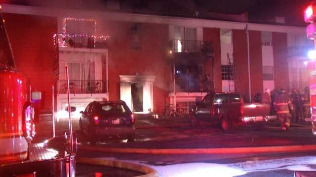 Firefighters Rescue Four People After Tulsa Apartment Catches Fire