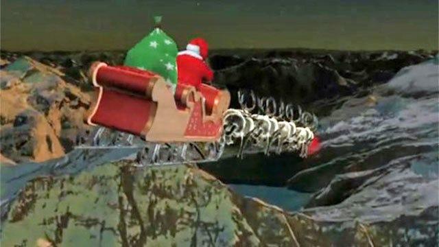 NORAD Tracking Santa's Trek Around The World