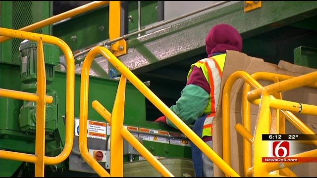 City Of Tulsa Encouraging After-Christmas Recycling
