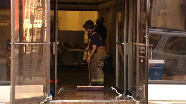 Sprinkler Head Failure Floods Tulsa Offices