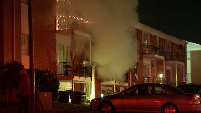 TFD: Fire At Highland Park Apartments Started In Kitchen
