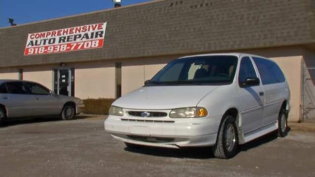 Tulsa Mechanic Donates Services To Quadriplegic Whose Van Was Vandalized