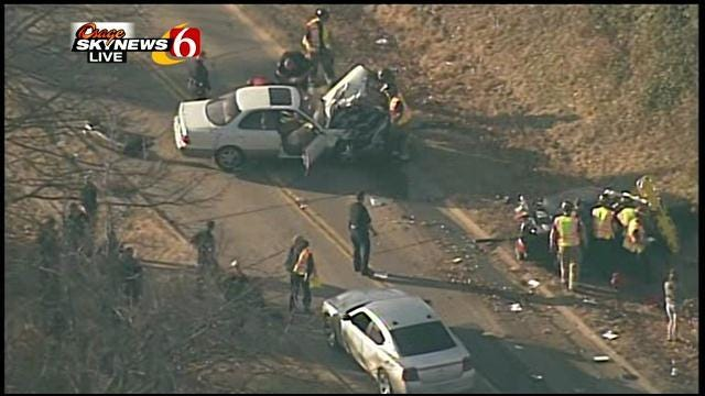 2 Arrested After Chase Leads To Crash Near Central High School