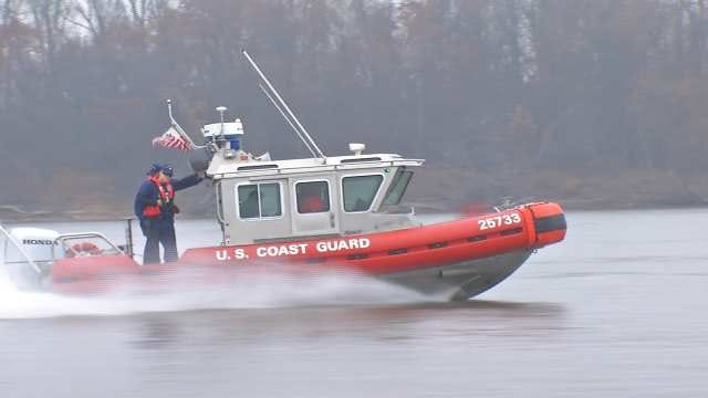 OHP, Coast Guard Team Up To Patrol Barges On Arkansas River