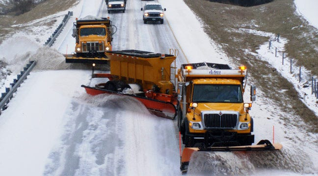 Oklahoma Turnpike Authority Prepared To Use New Supersized Plows