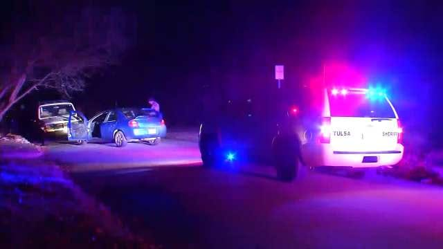 Deputies Look For Three Following West Tulsa Car Chase