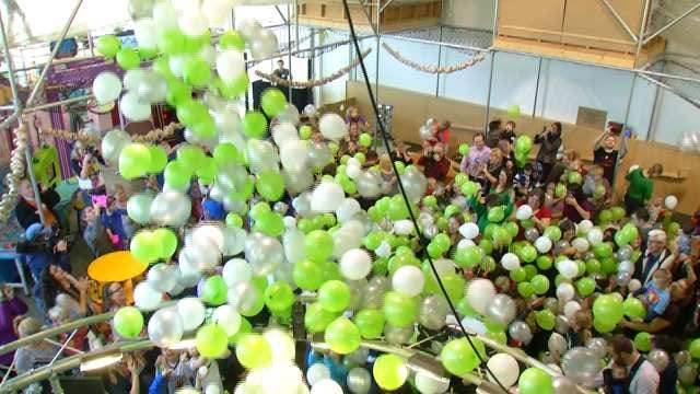 Tulsa-Area Kids Celebrate 'Happy Noon Year'