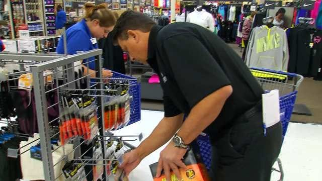 Tulsa Retailers Busy With Shoppers Picking Up Winter Weather Gear