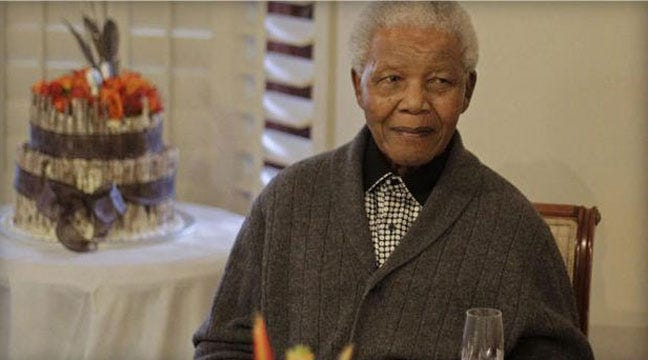 Nelson Mandela, Former South African President, Dies At Age 95