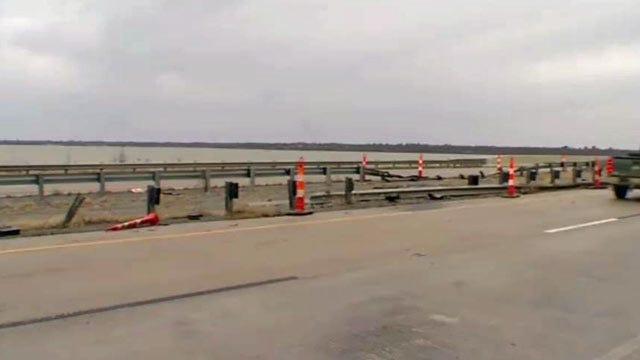 No Serious Injuries When Truck Runs Into Lake Eufaula