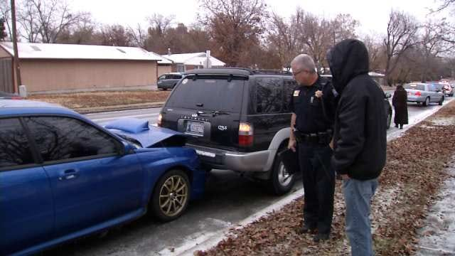 Tulsa Police Reveal Most Common Mistakes Drivers Make On Slick Streets