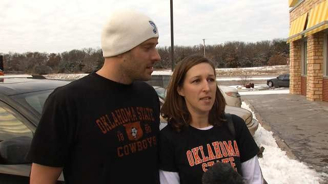 Fans Heading To Bedlam Game Face Some Slick Spots On Highways