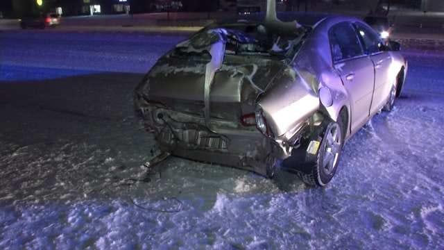 Snowpacked, Slick Roads Reported Across Oklahoma