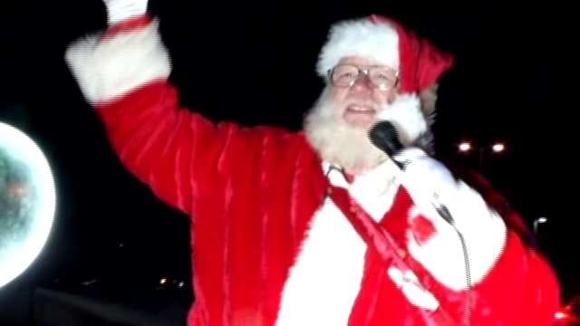 Families Line Streets For Tulsa Christmas Parade