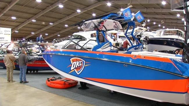 Latest Outdoor Gear On Display At Tulsa Boat Show