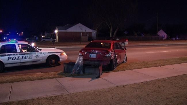 Police Nab Woman For Third DUI After Seeing Hit And Run Wreck