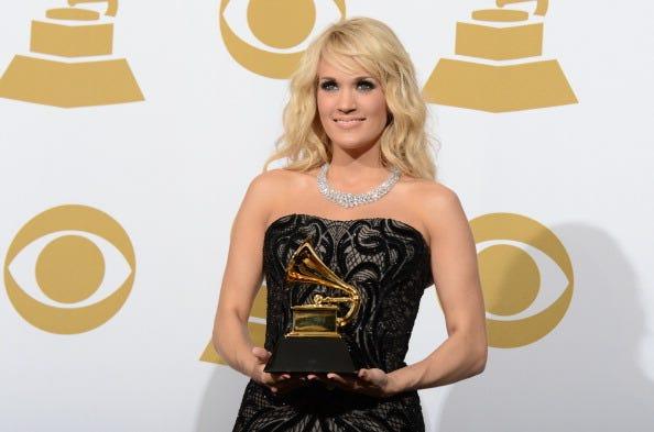 Music World Celebrates At 2013 Grammy Awards