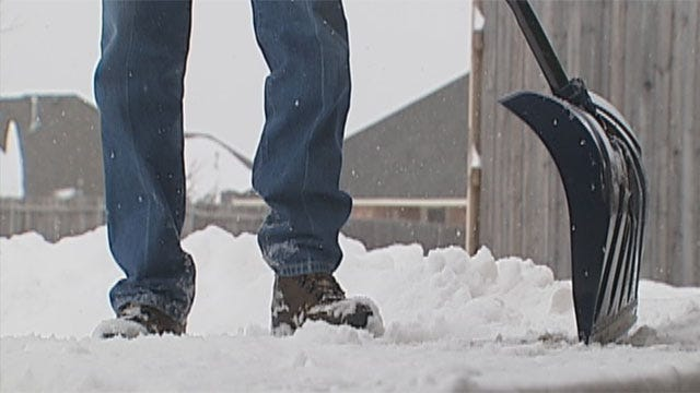 Up To 6 inches Of Snow Possible In Western Oklahoma, Far Less In Tulsa Area