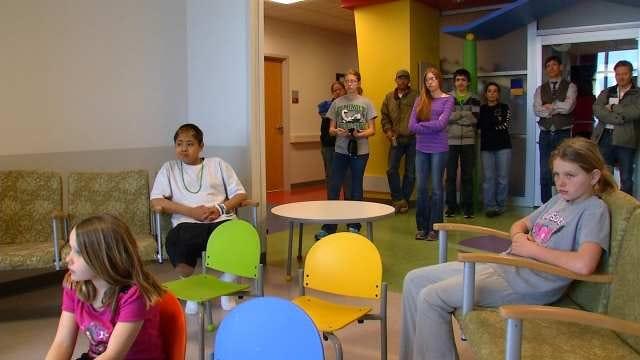 Quartet Entertains Patients At Saint Francis Children's Hospital