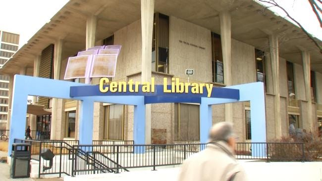 Tulsa Central Library Preparing For Much-Needed Remodel