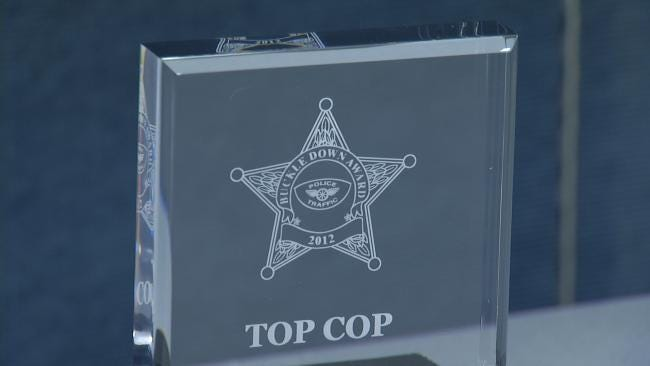 Green Country's Top Cops Honored At 20th Annual Buckledown Awards