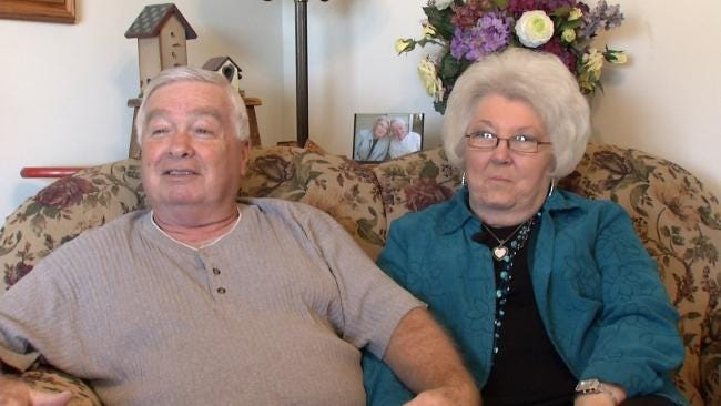 Tulsa High School Sweethearts Reunited By News On 6 Story