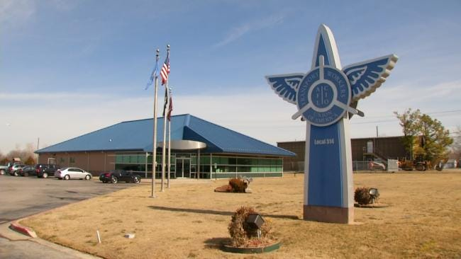 Workers At American Airlines Tulsa Maintenance Base Glad To See Merger