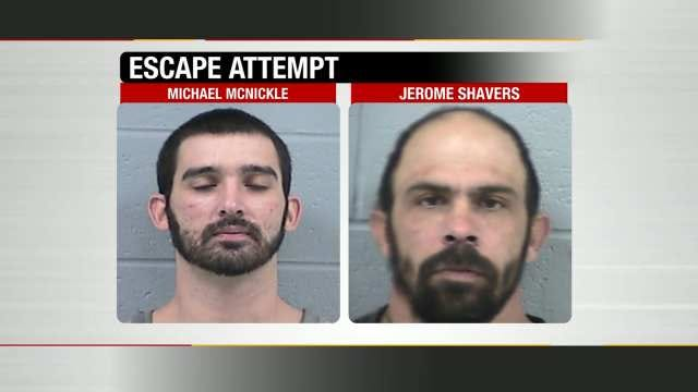 Rogers County Sheriff's Office Thwarts Escape Attempt At Jail