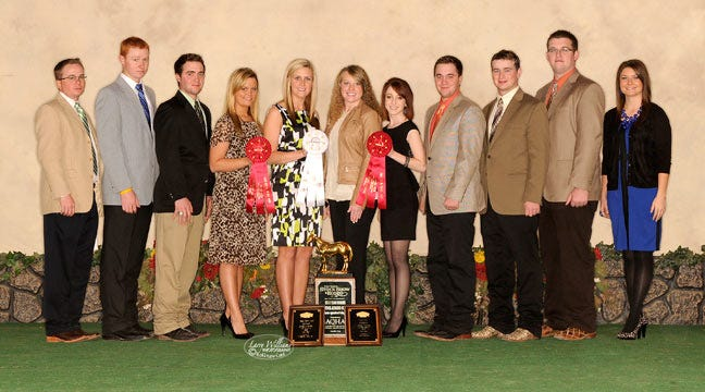 NEO Livestock Judging Team Wins Horse Division At Ft. Worth Stock Show