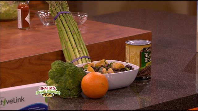 Orange-Cilantro Black Bean Salad