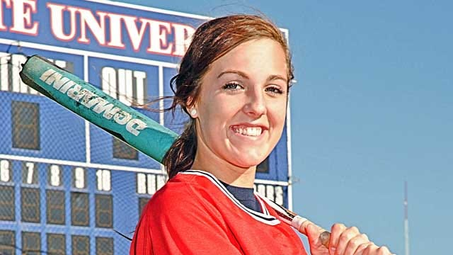RSU's Monigold Takes SAC Softball Honors