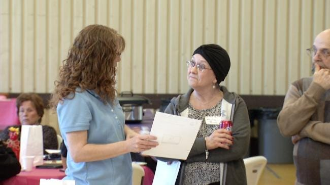 Sand Springs Relay For Life Volunteers Hold Registration Event